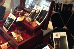 Nonpareil Ltd. jewelry display at The Cooley Gallery