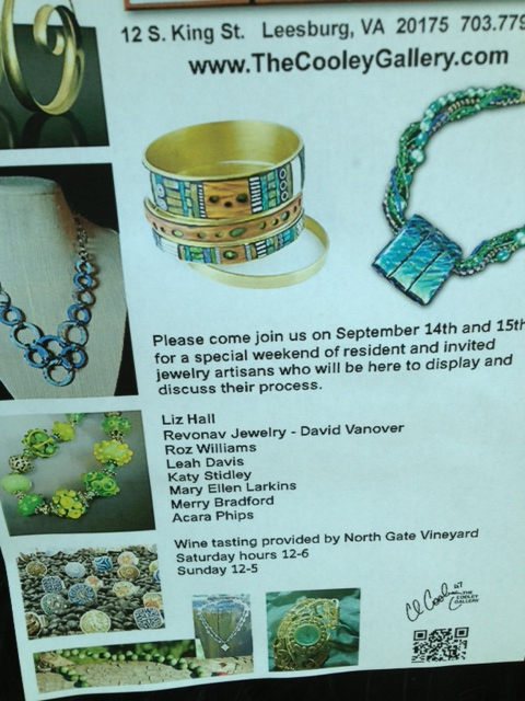 Jewelry Show Ad Flyer