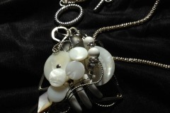 siL Vintage Collection Vintage Button Pendant No. 1